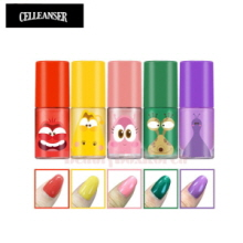 CELLEANSER Larva Pure Peel Off Nail Set 5items [LARVA Limited Edition],CELLEANSER